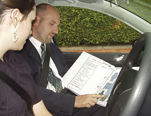 Structured driving lessons