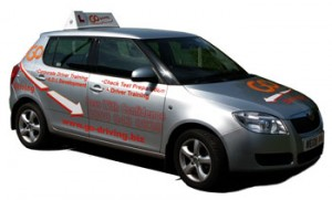 Air-conditioned, dual-controlled, fully insured cars
